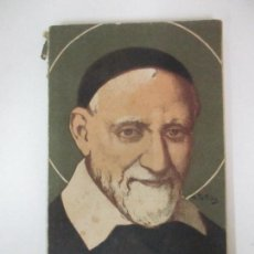 Coleccionismo Calendarios: ALMANAQUE DE LAS CONFERENCIAS DE SAN VICENTE DE PAÚL - TIPOGRAFÍA DE LA HORMIGA DE ORO - AÑO 1908. Lote 170857160