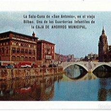 Coleccionismo Calendarios: CALENDARIO H. FOURNIER - CAJA DE AHORROS MUNICIPAL LA SALA-CUNA DE SAN ANTONIO - AÑO 1966 . Lote 170908630