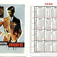Coleccionismo Calendarios: CALENDARIO FOURNIER, SUPERAMERICANA MORA , 1965 , ORIGINAL , CAD 253. Lote 170920593