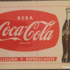 Coleccionismo Calendarios: AÑO 1960. CALENDARIO FOURNIER DE COCA-COLA.. Lote 170460672