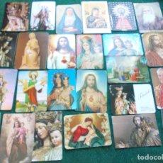 Coleccionismo Calendarios: LOTE CALENDARIOS RELIGIOSOS ANTIGUOS. Lote 171084060