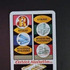 Coleccionismo Calendarios: CALENDARIO BOLSILLO - CARLOS NAVARRO - FOURNIER - AÑO 1974. Lote 171092508