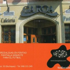 Coleccionismo Calendarios: CALENDARIO DE PUBLICIDAD 2010 BAR CAROA - DIPTICO. Lote 171197549
