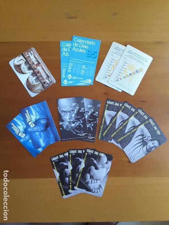 LOTE CALENDARIOS AÑOS 1995-1996-1999-2000 (Coleccionismo - Calendarios)