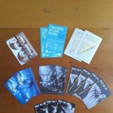 Coleccionismo Calendarios: LOTE CALENDARIOS AÑOS 1995-1996-1999-2000. Lote 171358173