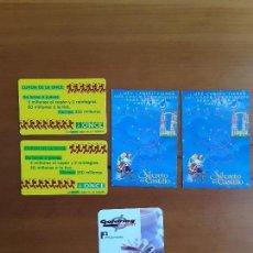 Coleccionismo Calendarios: LOTE CALENDARIOS AÑO 1997-1998-2000. Lote 171359048