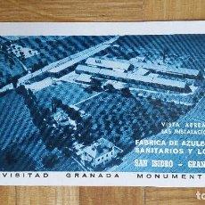 Coleccionismo Calendarios: CALENDARIO FOURNIER FABRICA DE AZULEJOS SANITARIOS SAN ISIDRO AÑO 1965 - VER FOTO ADICIONAL - NUEVO. Lote 171399940