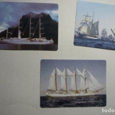 Coleccionismo Calendarios: LOTE CALENDARIOS EXTRANJEROS 2009 VELEROS. Lote 171415229