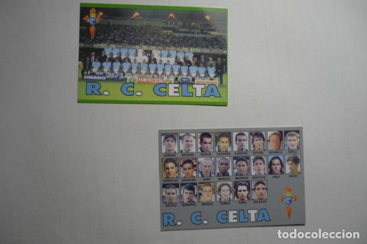 LOTE CALENDARIOS FUTBOL CELTA 2000 (Coleccionismo - Calendarios)