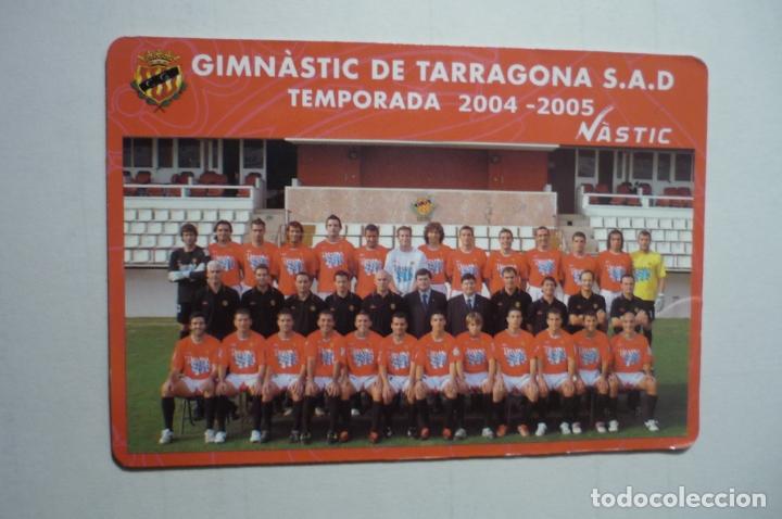CALENDARIO CATALAN 2005 FUTBOL NASTIC TARRAGONA (Coleccionismo - Calendarios)