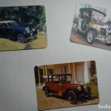 Coleccionismo Calendarios: LOTE CALENDARIOS COCHES ANTIGUOS .-1987-1994-1997. Lote 171415860