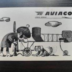 Coleccionismo Calendarios: CALENDARIO FOURNIER PUBLICIDAD AVIACO LÍNEAS AÉREAS - AÑO 1972 - AVIACIÓN. Lote 171417782