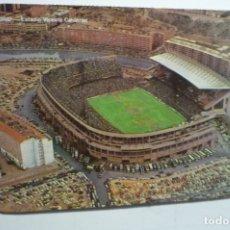 Coleccionismo Calendarios: CALENDARIO EXTRANJERO CAMPO FUTBOL AT.MADRID 1986. Lote 171456463