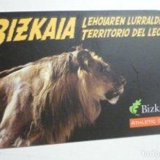 Coleccionismo Calendarios: CALENDARIO BIZKAIA- AT.CLUB 2004. Lote 171461997