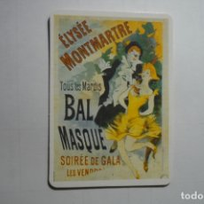 Coleccionismo Calendarios: CALENDARIO 2OO2 CARTEL BAS MASQUE MONTMATRE . Lote 171462405