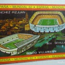 Coleccionismo Calendarios: CALENDARIO ESPAÑA 82 SEDE SEVILLA PIZJUAN .-VILLAMARIN 1982. Lote 171462678