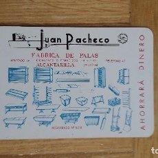 Coleccionismo Calendarios: CALENDARIO FOURNIER JUAN PACHECO AÑO 1965 - VER FOTO ADICIONAL - MBE. Lote 171477294