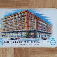 Coleccionismo Calendarios: CALENDARIO NO FOURNIER - CAJA DE AHORROS Y MONTE DE PIEDAD DE LEON AÑO 1973 - VER FOTO ADICIONAL. Lote 171803679