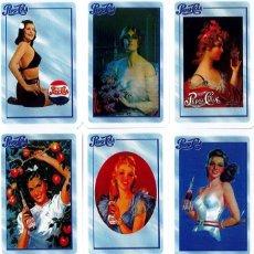 Coleccionismo Calendarios: 9 CALENDARIOS PEPSI-COLA AÑO 2010. Lote 172064804