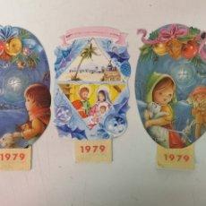 Coleccionismo Calendarios: 3 CALENDARIOS 1979. Lote 172163115