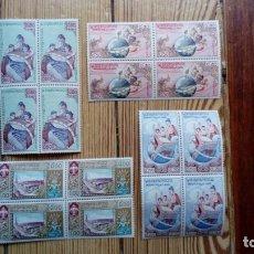 Coleccionismo Calendarios: LOTERIA NACIONAL 1958 PARTICIPACION EN SELLO NAVIDAD FILATELIA SELLOS DE LAOS INTERESANTE Y CURIOSO. Lote 172177318