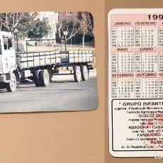 Coleccionismo Calendarios: CALENDARIO, PUBLICADO PORTUGAL - 1993 - GRUPO INFANTE DE SAGRES. Lote 172365720
