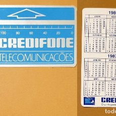 Coleccionismo Calendarios: CALENDARIO, PUBLICADO PORTUGAL - 1989 - ELECTRO SACAVÉM. Lote 172382404