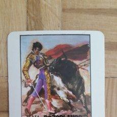 Coleccionismo Calendarios: CALENDARIO TOROS - PLAZA DE TOROS POZOBLANCO - PAQUIRRI - YIYO - EL SORO AÑO 1986. Lote 172612554