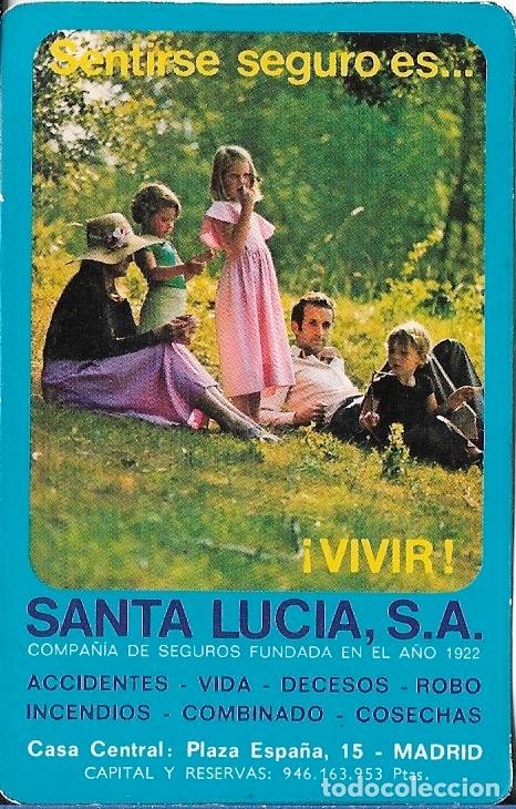 Santa Lucia Calendario.Calendario 1976 Santa Lucia Seguros