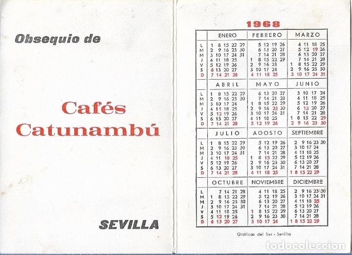 Calendario 1968.Calendario 1968 Cafes Catunambu Sevilla