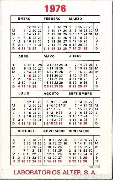 Calendario 1976.Calendario 1976 Nutriben