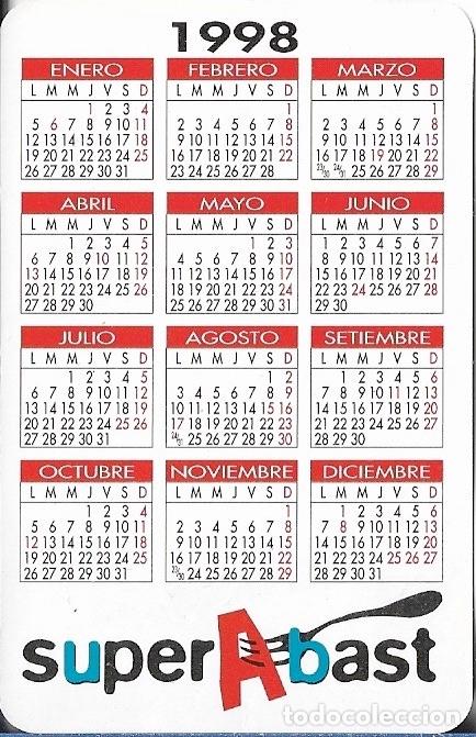 1998 Calendario.1998 Calendario