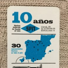 Coleccionismo Calendarios: CALENDARIO FOURNIER 1965. Lote 172998484