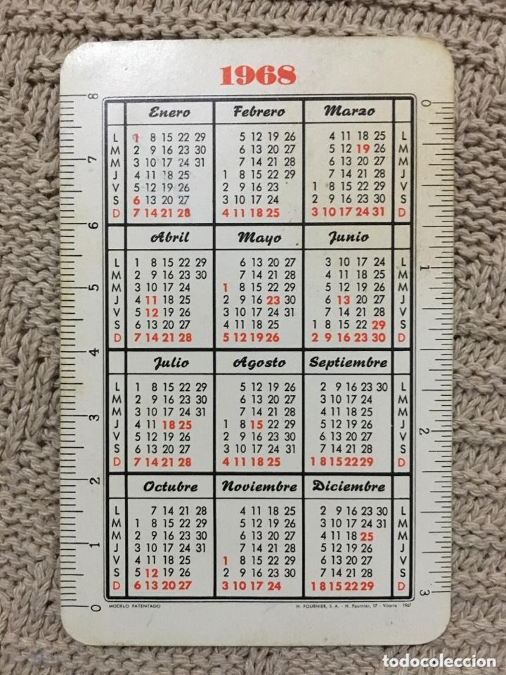 Coleccionismo Calendarios: Calendario fournier 1968 - Foto 2 - 173056133