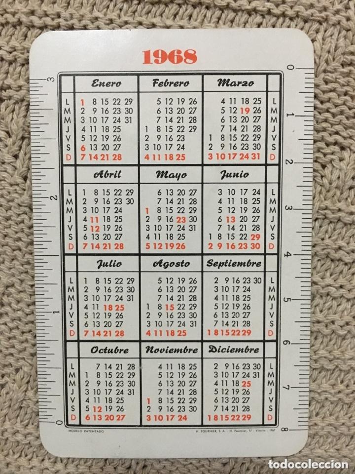 Coleccionismo Calendarios: Calendario fournier 1968 - Foto 2 - 173056835