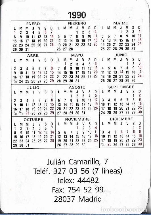 1990 Calendario.Calendario 1990 Seat Lezauto Moto Guzzi Madrid