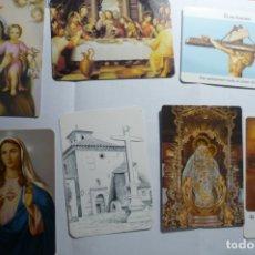 Coleccionismo Calendarios: LOTE CALENDARIOS RELIGIOSOS DIF.AÑOS. Lote 173161952