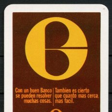 Coleccionismo Calendarios: CALENDARIO DE BOLSILLO, BANCO GUIPUZCOANO, 1974, H. FOURNIER. Lote 173162020