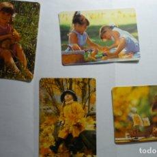 Coleccionismo Calendarios: LOTE CALENDARIOS DIF.AÑOS NIÑOS. Lote 173163405
