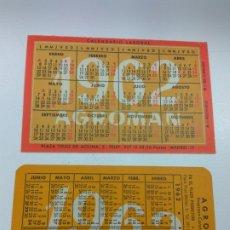 Coleccionismo Calendarios: CALENDARIO DE BOLSILLO AGROMAN 1962-1963 DIFERENTES LOTE DE 2. Lote 173439769