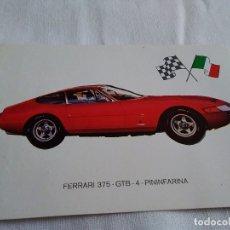 Coleccionismo Calendarios: 32-CALENDARIO COCHES FERRARI 375 GTB GIJON 1976. Lote 173562228