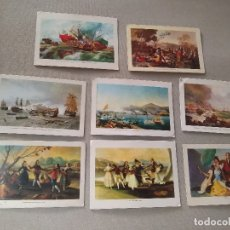 Coleccionismo Calendarios: 8 CALENDARIOS PUBLICIDAD GIJON , VALENCIA~ CUADROS GOYA , MONLEON , ETC..~(AÑOS 1971/72/73)VER FOTOS. Lote 173727184