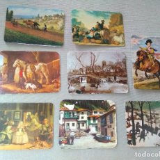 Coleccionismo Calendarios: 8 CALENDARIOS PUBLICIDAD GIJON ~ CUADROS VELAZQUEZ , ETC..~ (AÑOS 1969/71/74/75/77/78/86 ) VER FOTOS. Lote 173894392