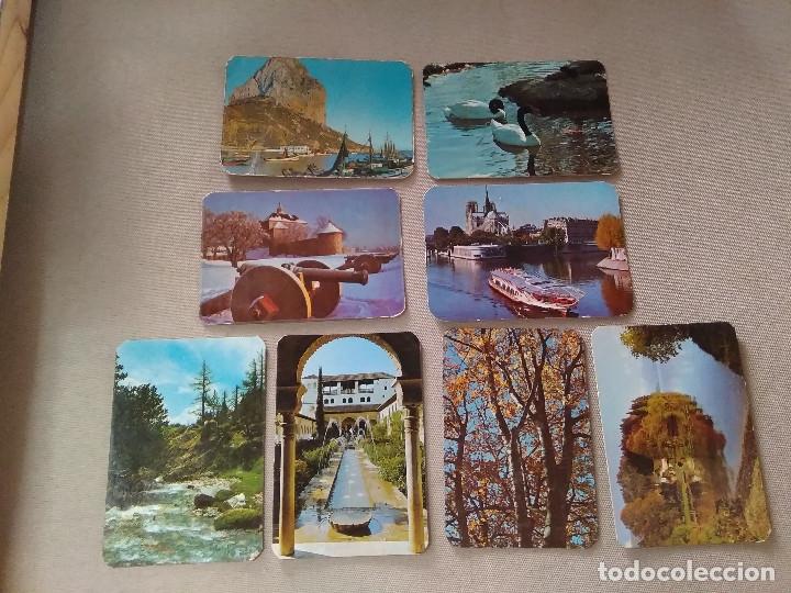 8 CALENDARIOS PUBLICIDAD GIJON , AVILES....~ PAISAJES,PUEBLOS,ETC..~ (AÑOS 1971/72/75/78 ) VER FOTOS (Coleccionismo - Calendarios)