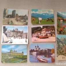Coleccionismo Calendarios: 8 CALENDARIOS PUBLICIDAD GIJON , AVILES....~ PAISAJES,PUEBLOS,ETC..~ (AÑOS 1971/72/73/74) VER FOTOS. Lote 173908109