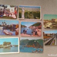 Coleccionismo Calendarios: 8 CALENDARIOS PUBLICIDAD GIJON , LA CORUÑA..~ PAISAJES,PUEBLOS,ETC..~ (AÑOS 1971/72/74/78) VER FOTOS. Lote 173910172
