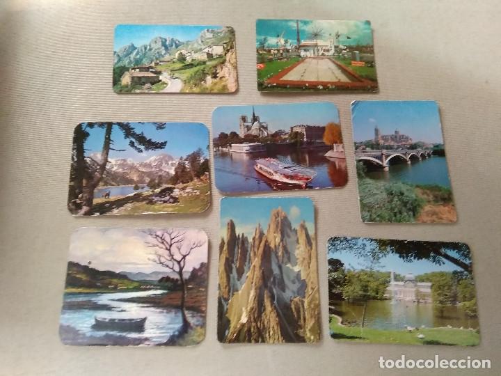 8 CALENDARIOS PUBLICIDAD GIJON , ASTURIAS...~ PAISAJES,PUEBLOS,ETC..~ (AÑOS 1971/72/73/77) VER FOTOS (Coleccionismo - Calendarios)
