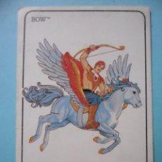 Coleccionismo Calendarios: MOTU SHERA PRINCESS OF POWER BOW Y ARROW CALENDARIO MATTEL 1986. Lote 174093418