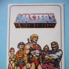 Coleccionismo Calendarios: MOTU MASTERS OF THE UNIVERSE CALENDARIO MATTEL 1986. Lote 174093768