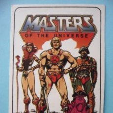 Coleccionismo Calendarios: MOTU MASTERS OF THE UNIVERSE CALENDARIO MATTEL 1986. Lote 174093864